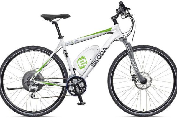 Green E Line: la nueva bicicleta eléctrica de Skoda