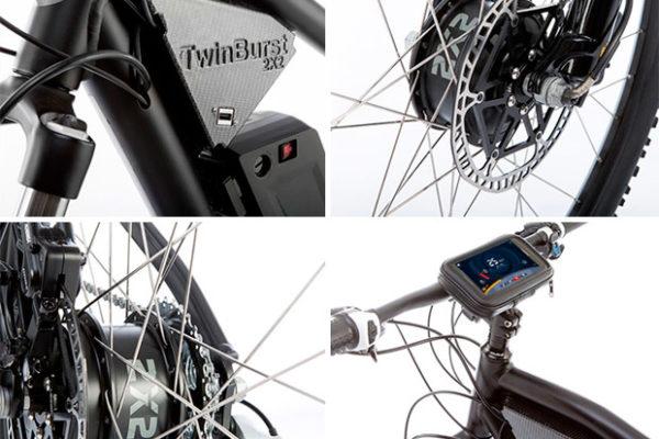 TwinBurst presenta sus modelos
