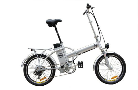 Booster-bikes Bike Pack Silver
