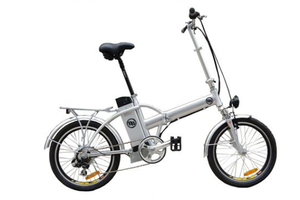 Booster-bikes Bike Pack Silver