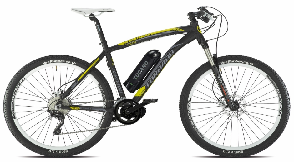 tucano torpado t 65 mountain bike el ctrica. Black Bedroom Furniture Sets. Home Design Ideas