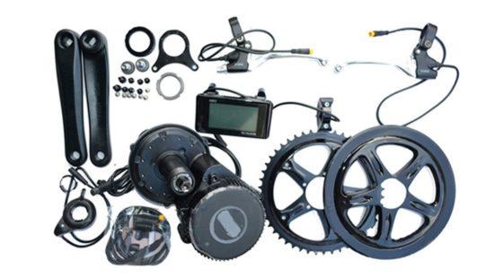kits de conversión de bicicleta eléctrica