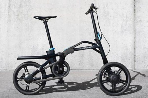 Peugeot eF01: la bicicleta eléctrica plegable ya está disponible