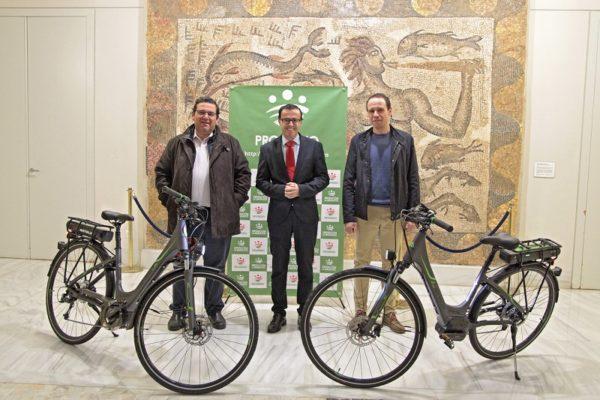 La Diputación de Badajoz apuesta por las bicicletas eléctricas