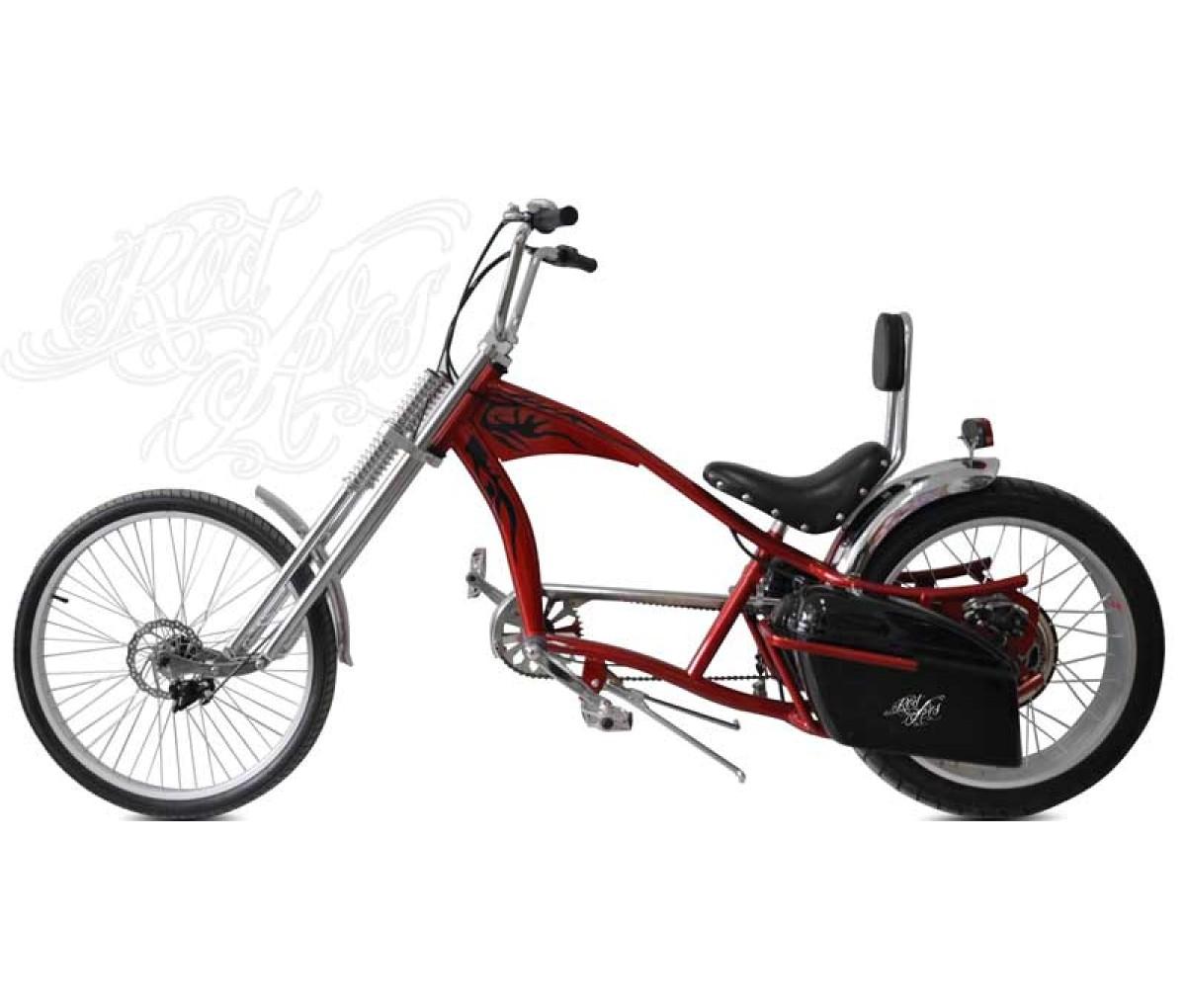 Bikelec Chopper Redzepellin - Características y precio de la bici ...