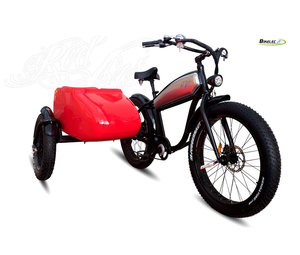 Foto Bikelec Sidecar Electrico Dr Jones