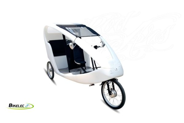 Bikelec Velo Taxi Eléctrico Nautilus