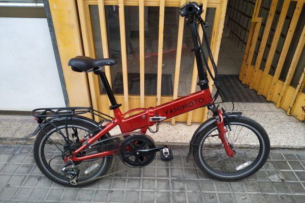 Probando mi primera bici eléctrica … de YAMIMOTO