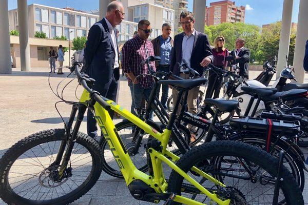 Murcia tendrá bicicletas eléctricas y puntos de recarga
